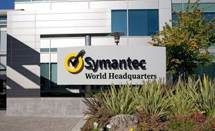 Photo non datée du siège de Symantec à Mountain View, en Californie.