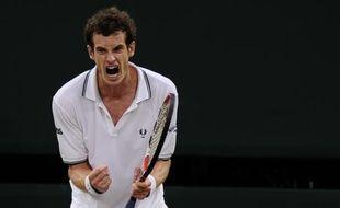 Andy Murray à Wimbledon, le 29 juin 2009.
