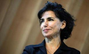 L'ancienne ministre de la Justice Rachida Dati, le 6 octobre 2014 à Paris
