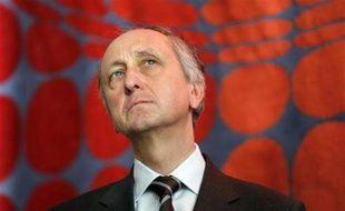 Le procureur de Nanterre Philippe Courroye, le 11 décembre 2009.
