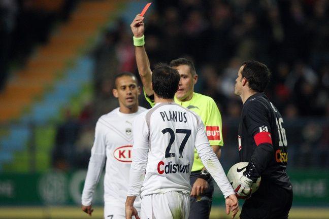 Lors du 5 à 0, Planus et Chalmé avaient été expulsés du côté des Girondins.