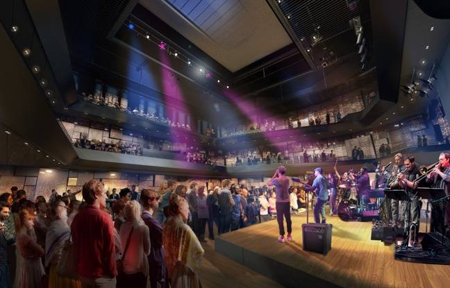La nouveau salle Rameau de Lyon contiendra une jauge de 500 à 840 places.