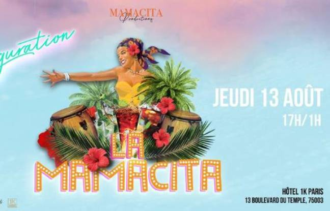 Visuel officiel de l'afterwork latino au 1K, la Mamacita
