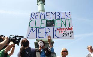 Une manifestation antifasciste en 2014.