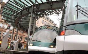 Les tarifs du ticket de tram seront moins élevés à Strasbourg ce vendredi. Illustration