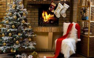 Un sapin de Noël.