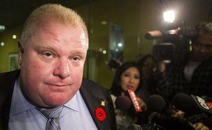 Le maire de Toronto, Rob Ford, le 7 novembre 2013.