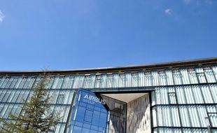 Le nouveau siège d'Airbus à Blagnac, près de Toulouse (Haute-Garonne), lors de son inauguration le 28 juin 2016
