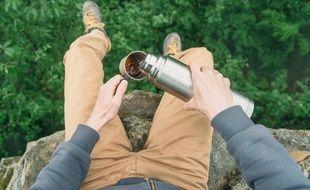 Si vous partez en expédition, la bouteille isotherme peut s'avérer (très) utile.