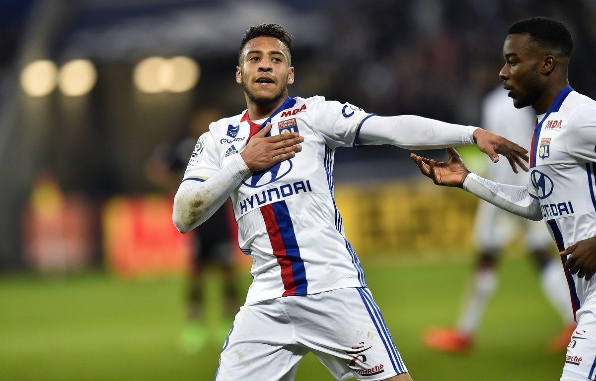 Corentin Tolisso a déjà inscrit dix buts toutes compétitions confondues cette saison avec l'OL. – ROMAIN LAFABREGUE / AFP