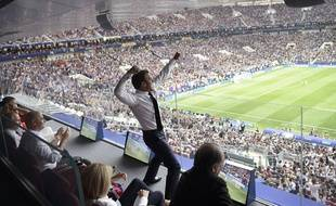 Emmanuel Macron était en feu