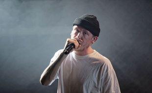 Eddy de Pretto en concert à Massy, le 18 mars.