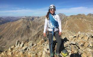 Marine Clarys est la première femme guide de haute montagne des Alpes-Maritimes.