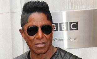 Jermaine Jackson devant les locaux de la BBC
