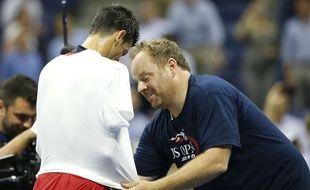 Novak Djokovic aime danser. Enfin, il essaie.