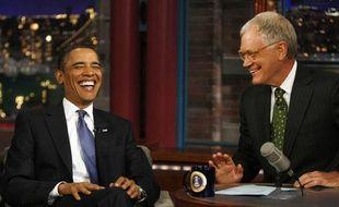 Barack Obama lors du Late Show, sur CBS, lundi 21 septembre.
