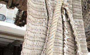 """""""Elles sont stressées"""", s'inquiète au soleil Christophe Serre, biologiste marin et scaphandrier, avant de plonger à 25 mètres de profondeur pour installer des langoustes rouges dans leur nouvel habitat, une """"zone marine protégée"""" entre Antibes et Cannes."""