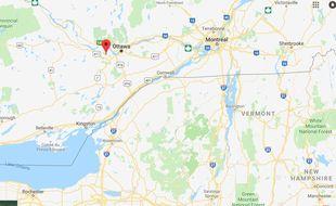 Une collision entre deux avions de tourisme à Ottawa au Canada a fait un mort le 5 novembre 2018. (Capture d'écran )