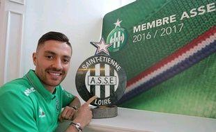 Anthony Mounier a officiellement été présenté devant la presse, vendredi à Saint-Etienne.