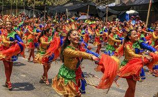 Chaque quartier de Barranquilla est représenté par ses danseuses et danseurs.