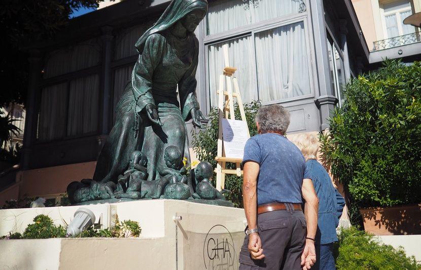 Menton : A la Biennale d'art contemporain sacré, une statue « anti-IVG » passe très mal