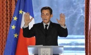 """Le président Nicolas Sarkozy a proposé mercredi la suppression de la fonction de juge d'instruction, actuellement chargé de l'enquête pour les affaires judiciaires les plus graves, et son remplacement par un """"juge de l'instruction"""" qui ne """"dirigera plus les enquêtes""""."""