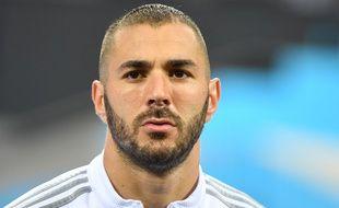 Karim benzema, le 29 mai 2016, avec le Real Madrid.