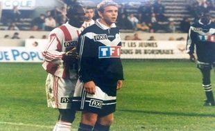 Cédric Anselin a commencé sa carrière aux Girondins de Bordeaux.