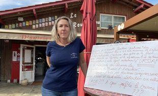 L'ostréicultrice Géraldine Vigier, à Gujan-Mestras, devra comparaître pour activité commerciale illégale.