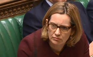 Amber Rudd au Parlement britannique, le 26 avril 2018.