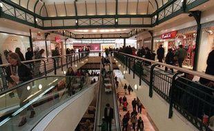 Le centre commercial Val d'Europe, à Marne-la-Vallée.