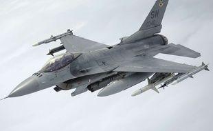 Un F-16 de l'armée américaine (illustration).