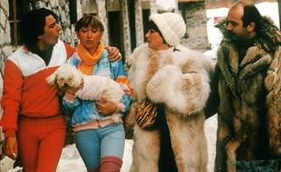 Image extraite du film «Les Bronzés font du ski».