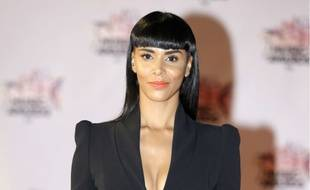 La chanteuse Shy'm aux NRJ Music Awards à Cannes le 7 novembre 2015