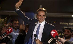 Kyriakos Mitsotakis est le nouveau Premier ministre grec après avoir remporté les législatives dimanche avec sa formation Nouvelle Démocratie (ND).