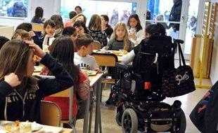La scolarité des enfants handicapés. Photo d'illustration.