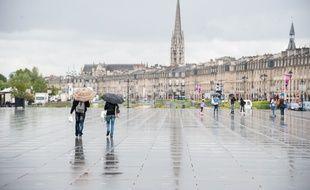 Bordeaux sous la pluie. (Archives)