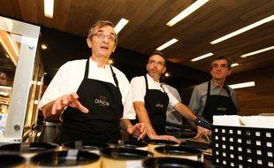 Michel Bras a aussi ouvert avec son fil Le Capucin, une sandwicherie gastronomique implantée Toulouse.