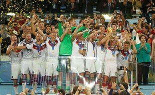 Les Allemands champions du monde, le 13 juillet 2014