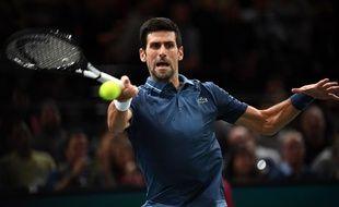Novak sort Rodgeur et file en finale du Masters 1000 de Paris