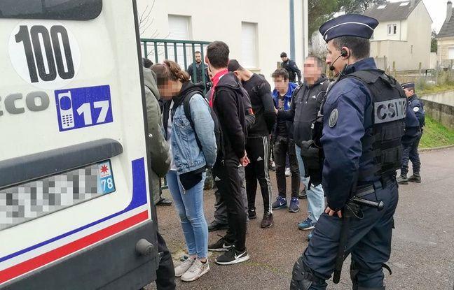 Lycéens de Mantes-la-Jolie interpellés: «Pas de faute» de la police selon l'enquête administrative