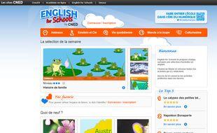Les élèves de primaire bénéficient de contenus ludiques pour apprendre l'anglais online.