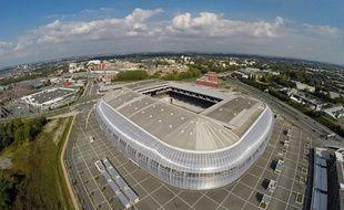 Le stade Pierre-Mauroy à Lille.