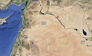 La ville de Deir Ezzor, dans l'est de la Syrie.