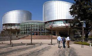 Siège de la Cour européenne de Strasbourg.