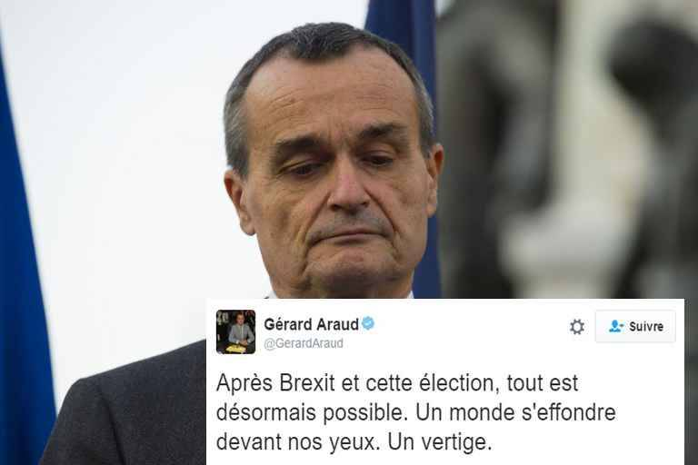 Incident diplomatique entre la France et les États-Unis — Présidentielles américaines