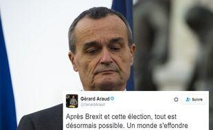 L'ambassadeur Gérard Araud et son tweet