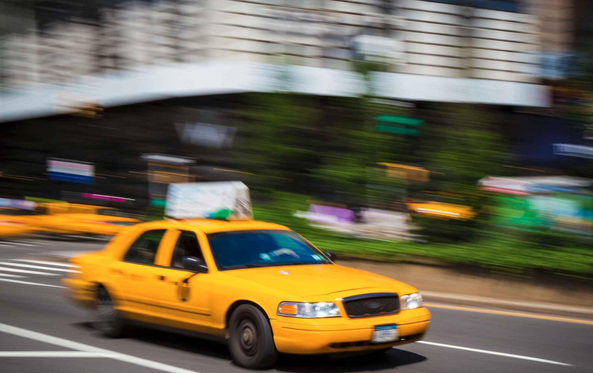 selon une tude les taxis jaunes ont moins d 39 accidents. Black Bedroom Furniture Sets. Home Design Ideas