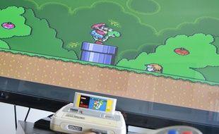 """Super Mario World"", sur Super Nintendo (Illustration)."