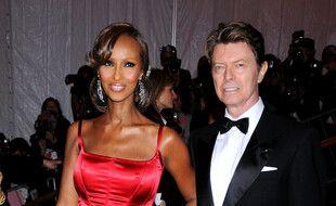 Les époux Iman et David Bowie